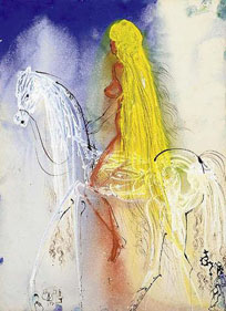 Artwork of Lady Godiva