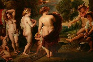Judgement of Paris by Rubens