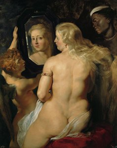 Venus in Front of her Mirror by Peter Paul Rubens
