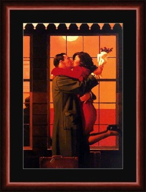 Vettriano 'Back Where You Belong'