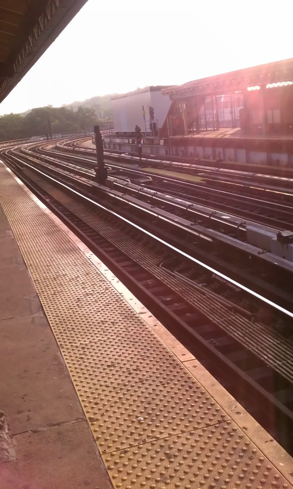 elevated train tracks