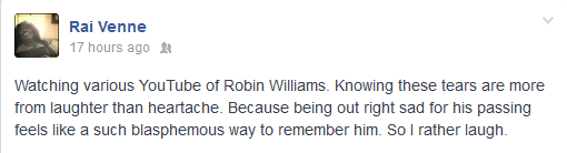 Facebook - Robin Williams
