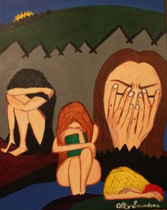 Artwork: Shame by Ally Saunders
