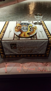 "Sojourner Truth Plate Setting - ""The Dinner Party"" by Judy Chicago at Brooklyn Museum"