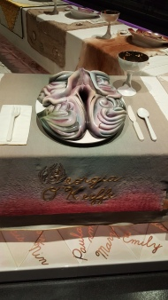"Georgia O'Keffe Plate Setting - ""The Dinner Party"" by Judy Chicago at Brooklyn Museum"