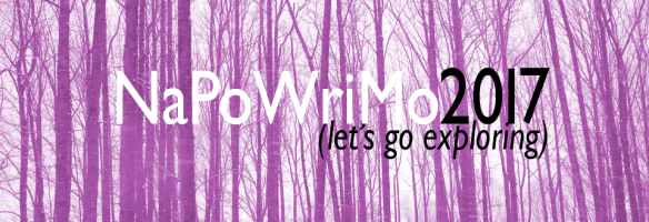 National Poetry Writing Month (NoPoWriMo) 2017