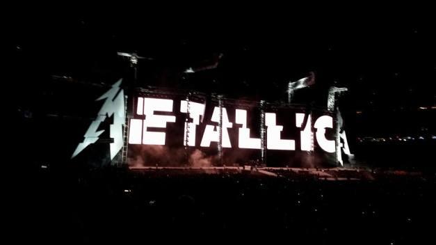 Metallica stage at MetLife Stadium