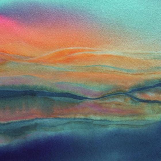 Painting by Lynne Baur